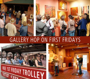 1st Friday at the Galleries