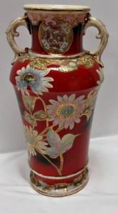 """Art Nouveau 12"""" vase"""
