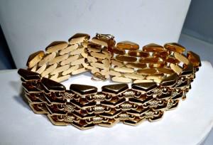 18K Vintage Gold Braclet